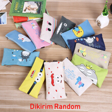 Mainland Tempat Pensil Pencil Case Box Kucing Imut TPC01 Warna Random