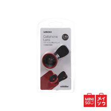 Miniso Official 0.4X Wide-angle Cellphone Lens (Red) (05MN-9619)