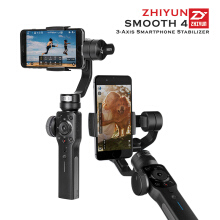 Zhiyun Smooth 4 3-Axis Gimbal Stabilizer For Smartphone - Black