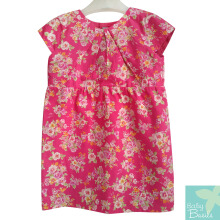 Baby Basils Lily Dress Cute Pink Flowers