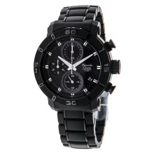 Alexandre Christie AC 6292 MC BIPBA Chronograph Black Dial Stainless Steel [ACF-6292-MCBIPBA]