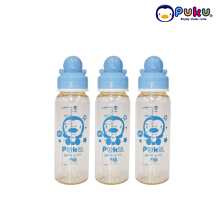 Puku PES Bottle Set 3pcs - 240 cc ( Botol Susu ) 11528 Light Blue