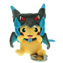 Aosen Pikachu 9 Inch Plush Doll Stuffed Cartoon Toy Gray