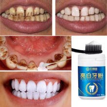 Farfi Natural Teeth Whitening Powder Stains Remover Oral Hygiene Cleaning Dental Care as the pictures
