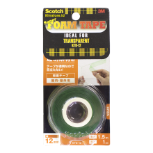 3m Double Tape Super Strong Transparant Daya Rekat Terkuat 3M Scotch KTD-12 Orange