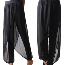 Farfi Women Chiffon Jointing Herem Pants