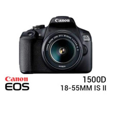Canon EOS 1500D Kit EF-S 18-55mm II Black