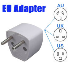Blitzwolf Universal US UK AU To EU European Travel Power Converter Adaptor Charger Plug   -  -