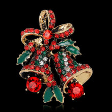 [COZIME] Christmas Bell Brooch Broth Colorful AL063-A