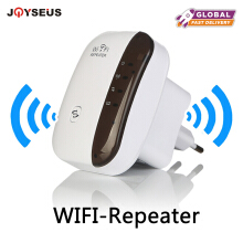 JOYSEUS Wireless WiFi Repeater Wi-fi Range Extender 300Mbps Signal Amplifier 802.11N/B/G Booster Repetidor Wi fi Reapeter Access White