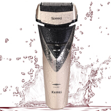Kemei electric shaver full body wash double blade head men