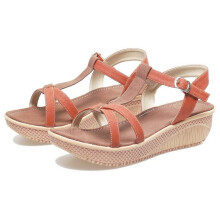 SANDAL HIGH HEELS / WEDGES KASUAL WANITA - BYI 953