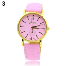 Farfi Geneva Women Girl Analog Quartz Wrist Watch Gift