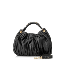Pre-Owned Miu Miu Leather Top Handle Bag