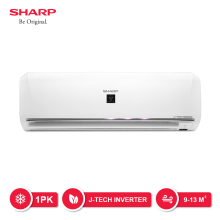 SHARP AC Inverter + Plasmacluster 1 PK - AH-XP10UHY [Indoor + Outdoor Unit Only]