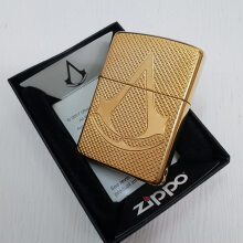 ZIPPO 29519 Armor Assassin Creed Deep Carved High Polish Brass Finish