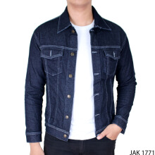 Gudang Fashion Jaket Jeans Simple