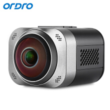 Ordro D5 Portable 360 Degree Panorama 1080P VR Mini WiFi Panoramic Sports Action Camera for Outdoor Travel Grey