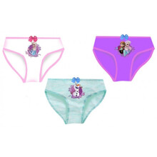 Disney Frozen Underwear (White, Misty Blue, Purple) - 3 pack