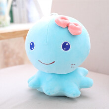 Jantens 21cm cute octopus plush toy filled soft animal cartoon doll child baby cute birthday Christmas gift