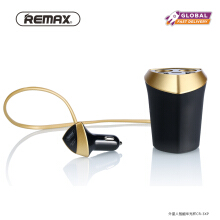 REMAX 3 USB Alien Series Smart Car Charger CR-3XP