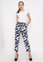 Shop at Banana Female Pants Navy Blue All Size