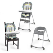 Bright Starts InGenuity Trio 3 in1 Deluxe High Chair – Ridgedale
