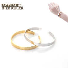 Cocoa Jewelry Rules of Love Couple Bracelet Silver Color & Gold Silver