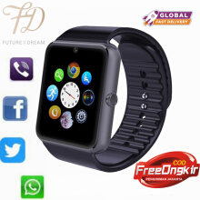 PEKY Smartwatch GT08 Bluetooth Smart Watch with Camera SIM TF Card Call Sync Notification for Android