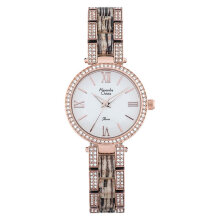 Alexandre Christie AC 2676 LH BRGSLYL Ladies White Pattern Dial Stainless Steel with Ceramic [ACF-2676-LHBRGSLYL]