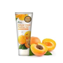 Ekel Apricot Peeling Gel Transparent and Black