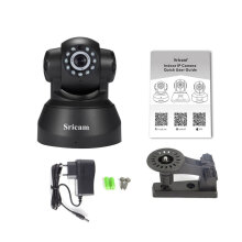 Sricam 1280*720 Motion Detection Alarm Camera Network Wireless IP Camera Sp012 black