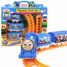 CUTE BABY Mainan Anak Thomas Mini Train Track Set