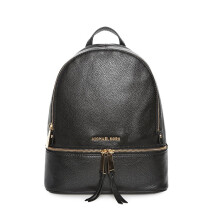 Michael Kors Women's Medium Size RHEA Cow Leather Backpack 30S5GEZB1L001 Black