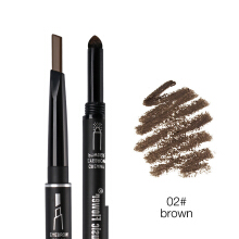 Music Flower Brand 3 Color Makeup 2 In 1Automatic Eyebrow Pencil+eyebrow Powder Set Natural Creamy Eye Brow Pen 24H Long-lasting