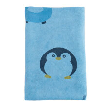 KUMA KUMA Handuk Mandi Animal Pinguin 70x140 cm - Blue
