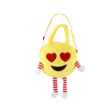 [COZIME] Cute Children Handbag Face Plush Toy Single Shoulder Bag Kids Schoolbag Others1