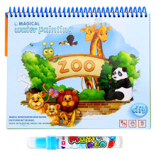 Keymao Magic Water Drawing Book Coloring Book Doodle With Magic Pen Painting Drawing Board Coloring Book