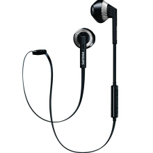 PHILIPS SHB5250 Headset Bluetooth olahraga nirkabel Black