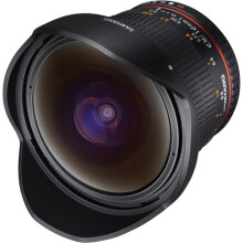 Samyang 12mm f/2.8 ED AS NCS Fisheye Lens for Canon EF Mount Black