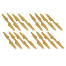 COZIME 8 Pairs Propeller CW/CCW Blade for Hubsan H501S H501C H501A H501M RC Drone Gold