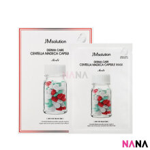 JM Solution Derma Care Centella Madeca Capsule Mask (10 Sheets/ Box)
