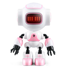 JJRC R8 RUKE / R9 RUBE Intelligent ouch Control DIY Gesture Mini Smart Voiced Alloy Robot Christmas Gift Children Toys