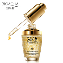 BIOAQUA 24K Gold Day Cream Hydrating Essence Serum Face Skin Care Serum Wajah 30ml