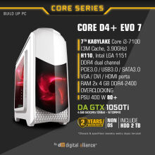 DIGITAL ALLIANCE Core D4+ EVO 7 with 2TB HDD - White