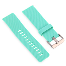 Aosen  24mm Silicone Band Strap Pin Buckle Wristband for Fitbit Blaze Smart Watch