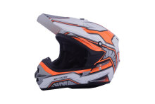 Helm Motorcross Cargloss MXC Motosport - Orange White