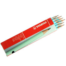 STABILO 421/2B-6 Schwan Pencil 2B Pastel Blue (1 Pack = 12 Pcs)