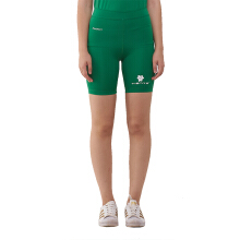 Tiento Baselayer Compression Celana Pendek Ketat Short Legging Pants Olahraga Green White