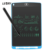 Blitzwolf Writing Board 10 inch LCD Digital Tablet Drawing Notepad Writer Electronic Handwriting Painting Tablet Kids &Office Pad Notepad Blue
